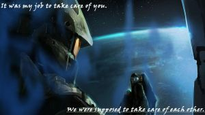 it was my job to take care of you by spinosaurs