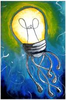 Boards 2 - Lightbulb Jellyfish by Mensaman