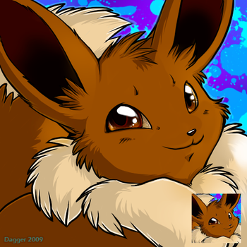 Pokemon Icon - Eevee by Majime