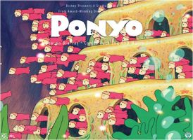 HM: Ponyo Contest by Before-I-Sleep