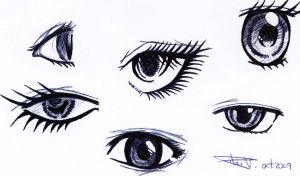 eyes by deedlit85