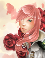 FF XIII - Roses by Pikakus