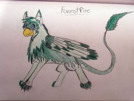 Forestfeather-Gryphon by Reptile64
