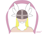 Minimalist - Angewomon by Linnekesart