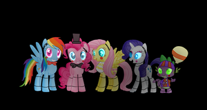 five nights at freddys 2  (my little pony) by kawaiicreationss