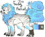 Ice Foo Dog Auction!: CLOSED by SwashbuckIer