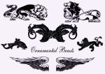 Ornamental Beasts by Sya