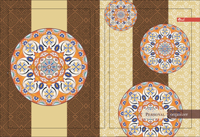 Ornament notebook cover by leila1605