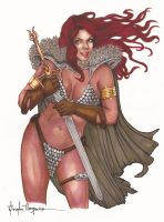 RED SONJA by leidanogueira