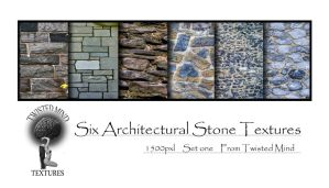 Twisted Mind Architectural Stone Textures Set one by Textures-and-More