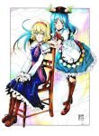 Alice and Tenshi by EUDETENIS