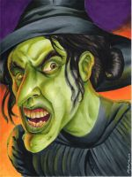 Wicked Witch of the West by NickMockoviak