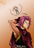 Thinking of Natsu by Unrealyeto