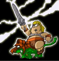 he-man chris griffin by neokat