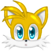 Tails's face by GNTS