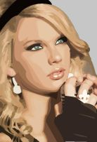 Taylor Swift Vector by lou-lou10