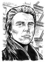 Sketch Card - Christopher Walken by dalgoda7