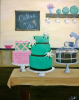 Cake Shop by JessicaSoulier
