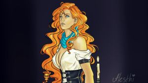 Rin by Alesthi
