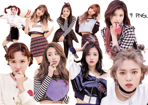 TWICE PNG Pack {TWICECOASTER Lane 2 Album} HQ by soshistars