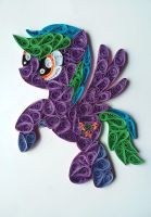 Quilling - Thunder Wind (MLP OC) by Sszymon14