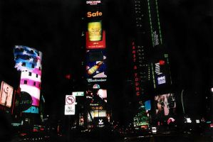 Times Square by mirrorimagestock