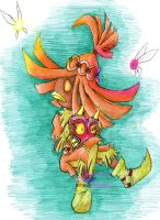 LoZ-MM: Skull Kid's Remorse by PuppyLuver