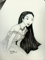 Pocahontas by smoofay