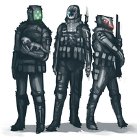 protags by zombieless