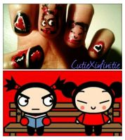 Pucca and Garu by CutieXinfinitie