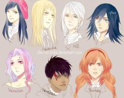More OCs haha by Sleii-no-baka