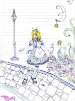 Alice in wonderland by shikicraig