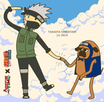 Adventure Time Konoha by Takaita