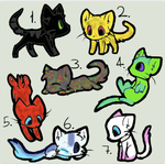 Adoptable Batch 3 by Halfkit