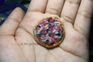 Miniature Pizza by margemagtoto