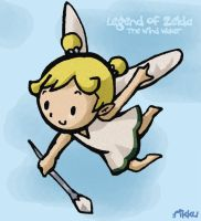Wind Waker - Fairy by f1nlfant4sy