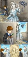 Hiccup meets Helena Ravenclaw by Lienzo-escarlata