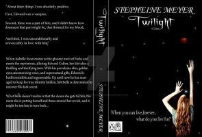 Twilight Book Cover Series 2nd by KnucklesTheEchidna53
