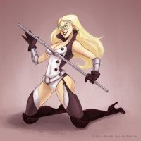 Pinup Mockingbird by zealousceles