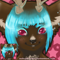 Blueberries and Chocolate - Icon by nekophoenix