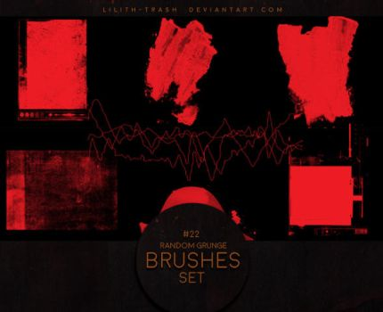 Grunge Brushes #2 by Lilith-Trash