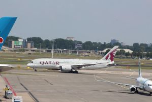 qatar A7-BCD by damenster