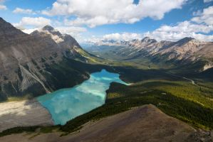Peyto Lake by voogac
