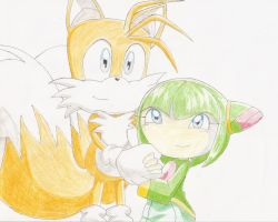 Tails and Cosmo-x3rubiachica3x by Taimo-Defenders-Club