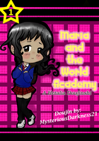 Maria and The World Academy Volume 1 Cover by nyxxeii