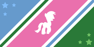 Ponyvale Flag Contest Entry #3 by ShiningWingPony