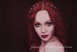 (P)enchantress - ballpoint pen by Joanna-Vu