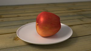 Apple by abluescarab