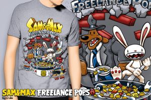 Sam and Max Freelance Pops by crula