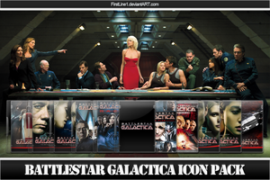 Battlestar Galactica Icon Pack by FirstLine1